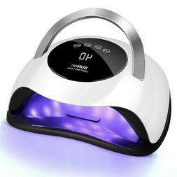 120W Nail Dryer LED Lamp UV Light for Nails Polish Gel Machi