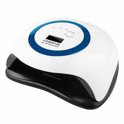 168W UV LED Nail Lamp Professional Manicure Nail Dryer For G