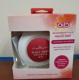 Clio 2-in-1 professional Nail Dryer Portable Travel  Drying