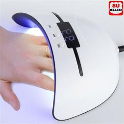 36W Nail Polish Dryer Pro UV LED Lamp Acrylic Gel Curing Lig