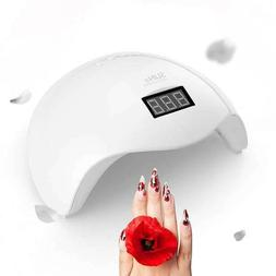 SUNUV 48W SUN5 LED UV Nail Dryer Nail Lamp Pro Gel Polish Cu