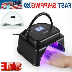 Anself 64/80W Professional 32 LED Gel Nail Dryer Lamp Curing