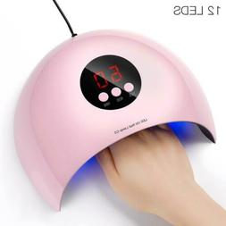 6W/24W/36W Nail Dryer LED UV Lamp For Gels UV for Nail Machi