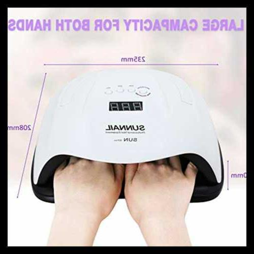 Canvalite 80W Nail Lamp Professional