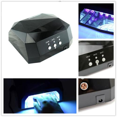 led nail dryer diamond shaped curing lamp