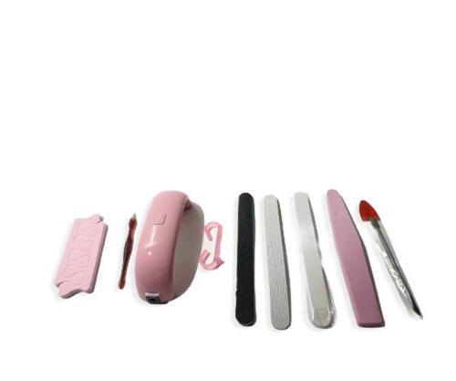 led nail dryer set lamp uv gel