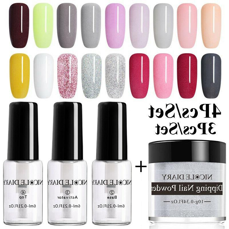 nail dipping kit powder without lamp cure