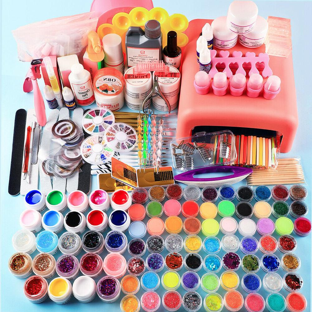 pro nail art care kit uv gel