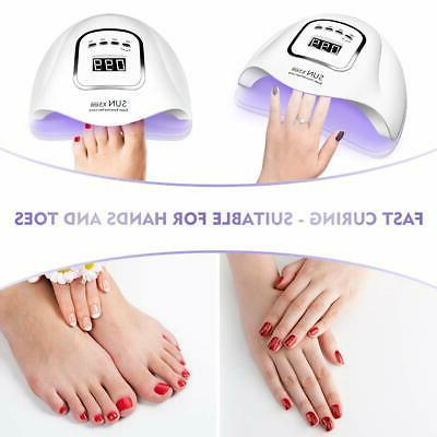 Professional LED UV Dryer Gel Polish Salon Manicure SUN Plus
