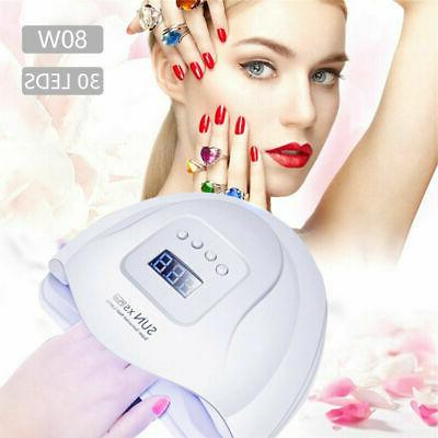 professional led uv nail dryer gel polish