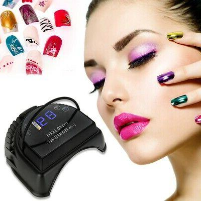 Professional Quick-Dry LED Nail Dryer Lamp - Gel Electric