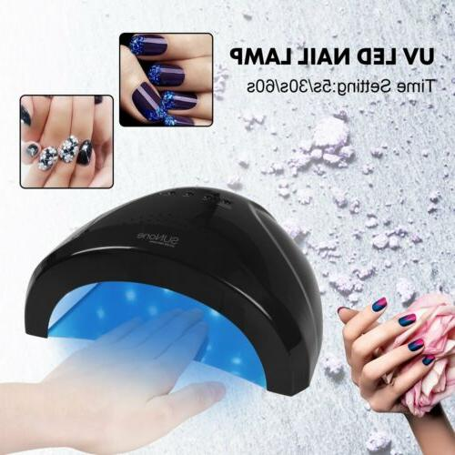 Sunone LED Nail Dryer Pro 48W UV Gel Polish Lamp Light Curin
