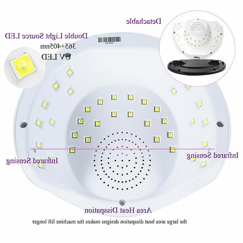 SUNX Professional Quick LED Nail Dryer/Curing 75W