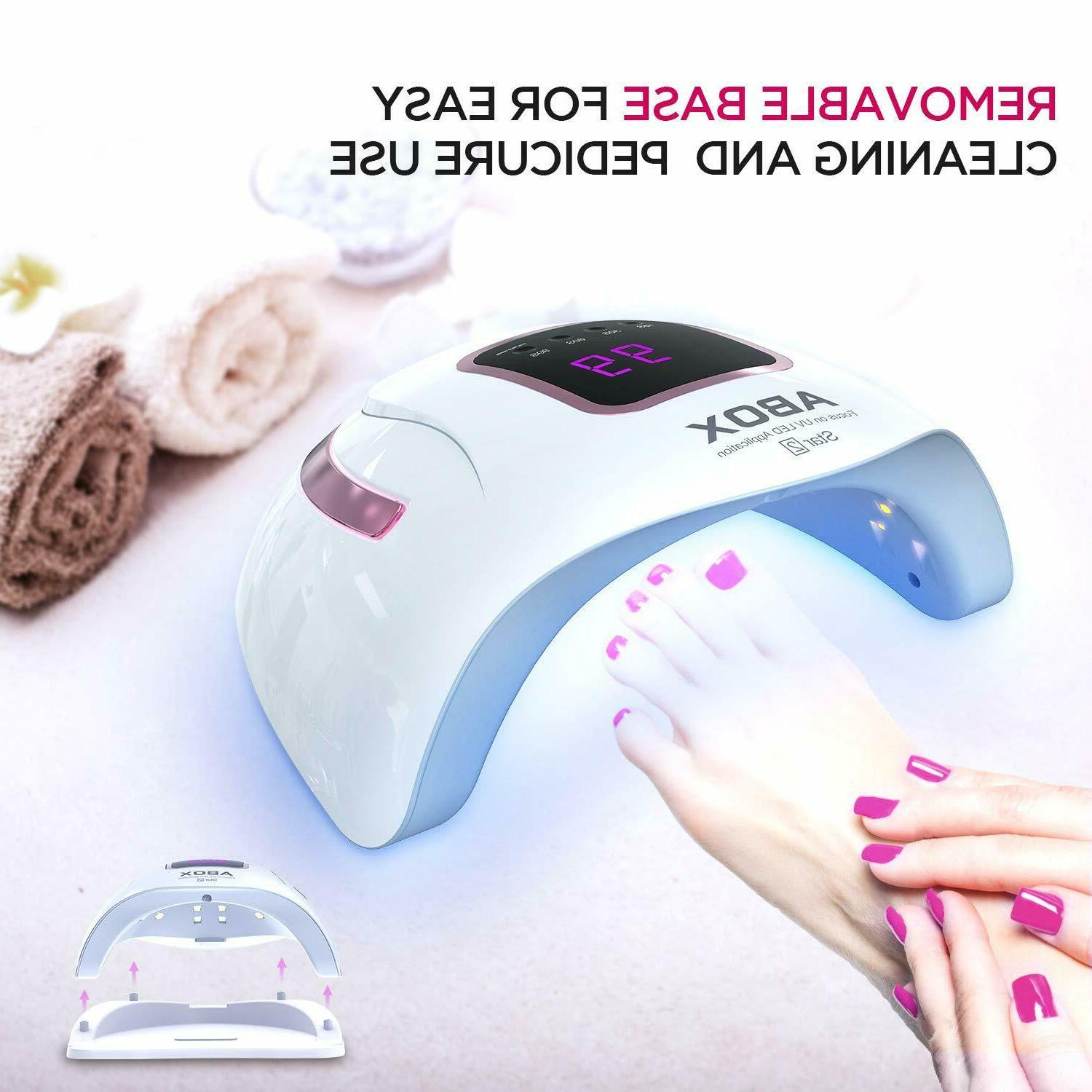UV LED 72W, Nail Dryer Lamp for Gel A1