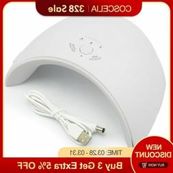 LAMP FOR NAIL LED UV Gel Dryer Curing OPI POLISH Portable Li