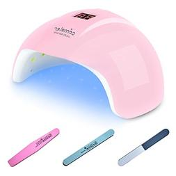 LED UV Light Nail Lamp Gel Polish Dryer with Timer Setting A