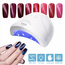 Nail Dryer UV Lamp Led Light for Gels Polishes with Sensor 3
