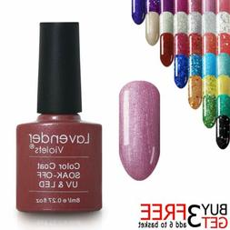 Soak off 8ml UV LED Nail Gel Polish Varnish Top Color or 24W