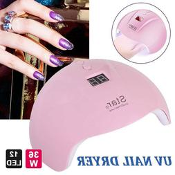 Star7 36W Nail Dryer Polish Gel UV Curing LED Nail Moderling