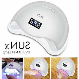 SUNUV 48W SUN5 LED Lamp UV Light for Nails Polish Gel Machin