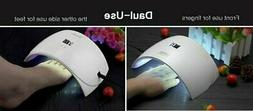 SUNUV SUN 9S Dual curing LED UV Nail Lamp - Works on all Gel