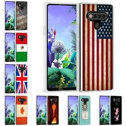 TPU Gel Phone Case Cover for LG Stylo 6 / 5 / 4,Design Flag